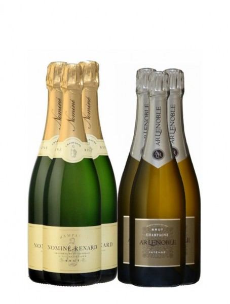 6er Genießerpaket - 3 x 2 Champagner Brut